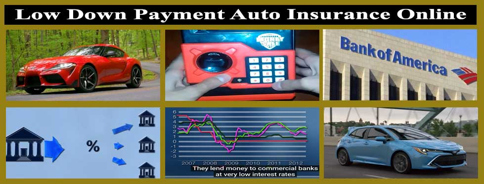 Low Down Payment Auto Insurance